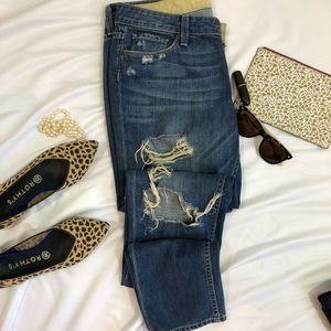 Paige jimmy jimmy skinny jeans distressed 28 A31